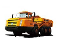XCMG Official Manufacturer Articulated Dump Truck XDA60E