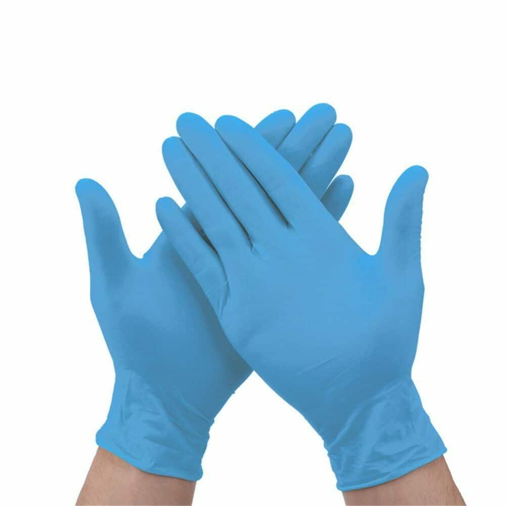 Durable Nitrile Disposable Gloves Medical Food Handling Rubber Latex D699