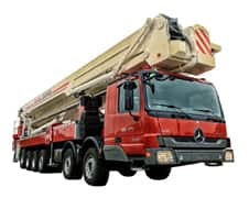 XCMG 100m Elevating Aerial Work Platform Fire Truck DG100