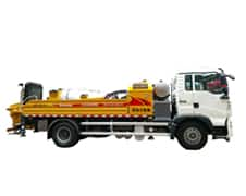 XCMG Official HBC10018K Truck-mounted Concrete Line Pump