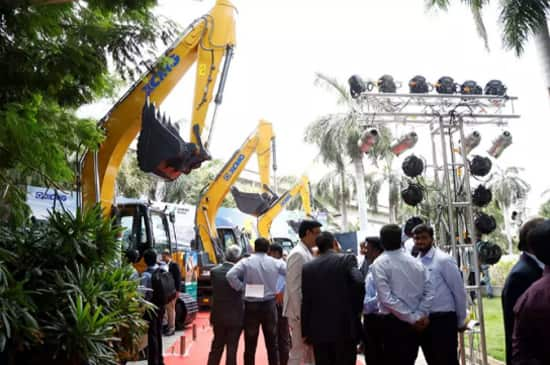XCMG's Three Novel Excavators Gain considerable fame in India