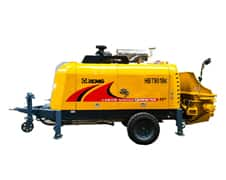 XCMG Official HBT9018K Trailer-Mounted Concrete Pump