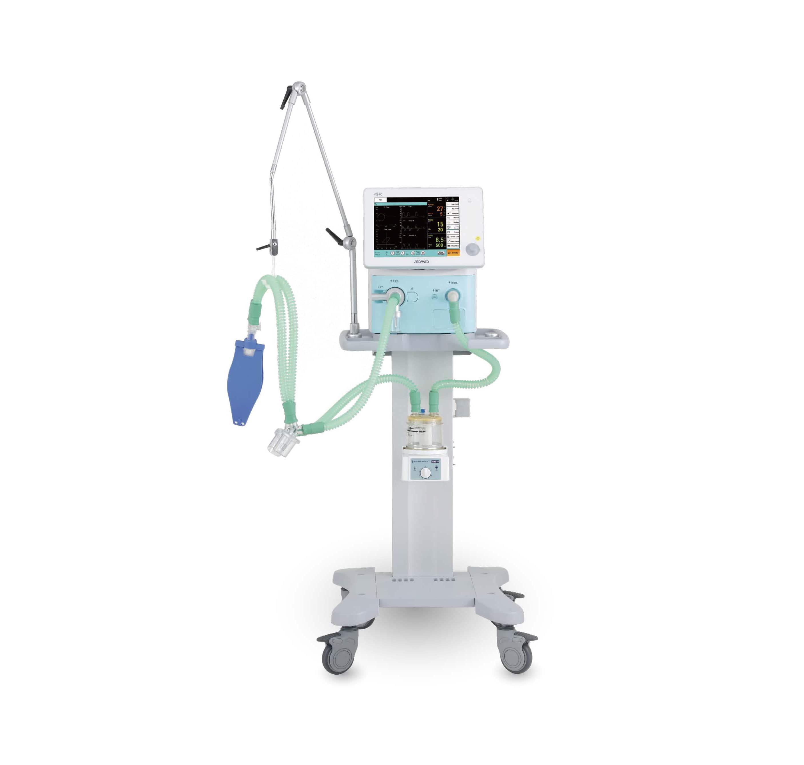 Invasive and Noninvasive Ventilator VG70 for sale