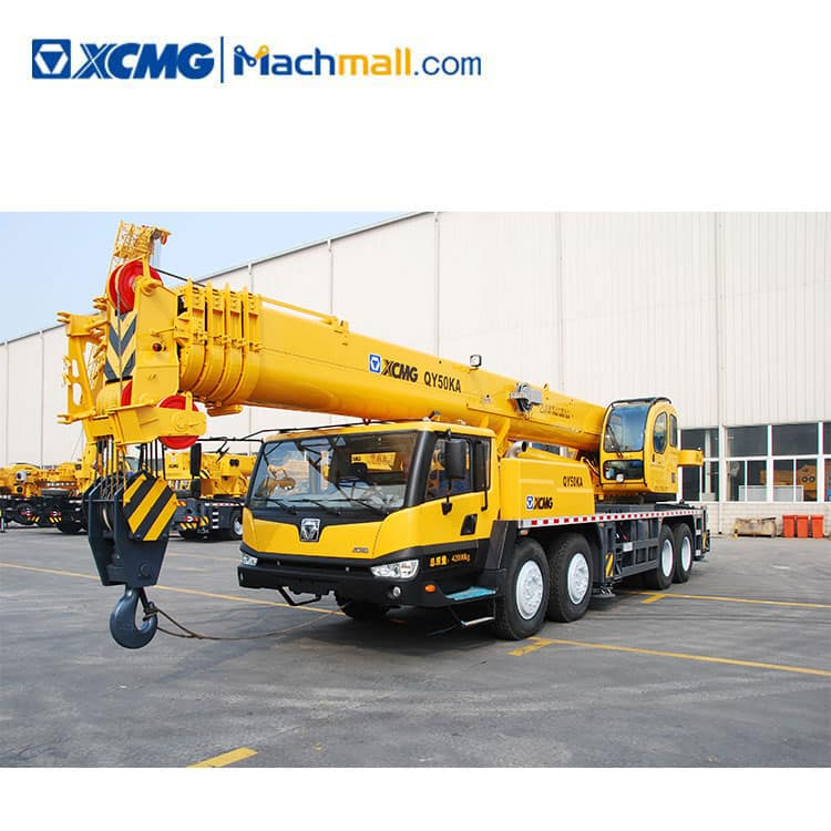 50 Ton Truck Crane QY50KC