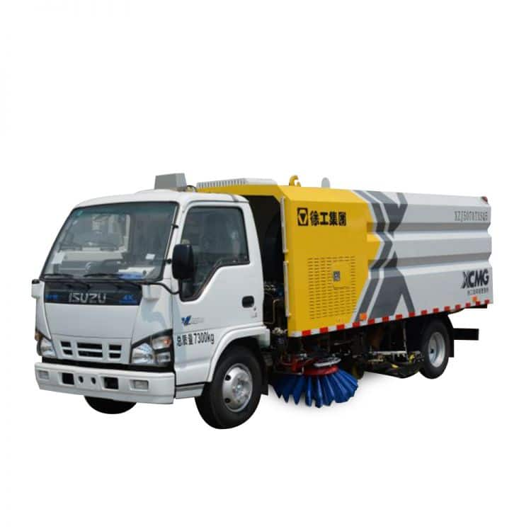 XCMG Official Manufacturer 3 tons Sprinkler-Sweeping Truck XZJ5070TXS for sale
