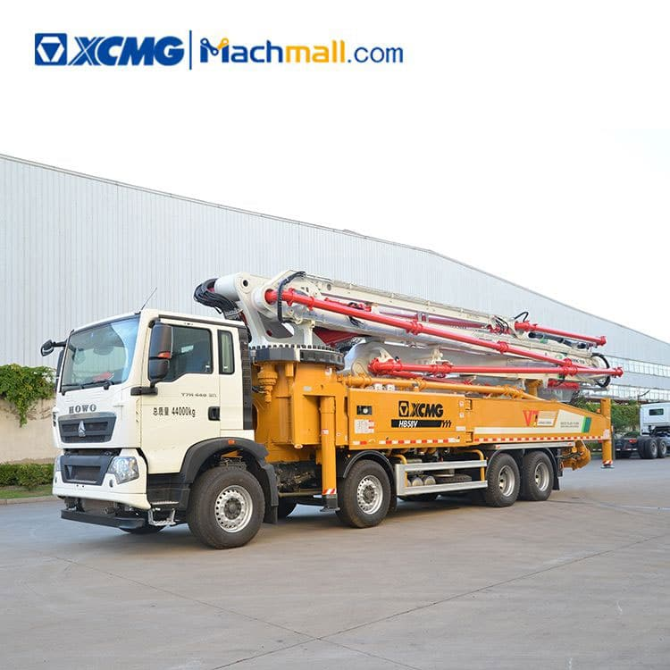 58 m Cement Concrete Pump HB58V