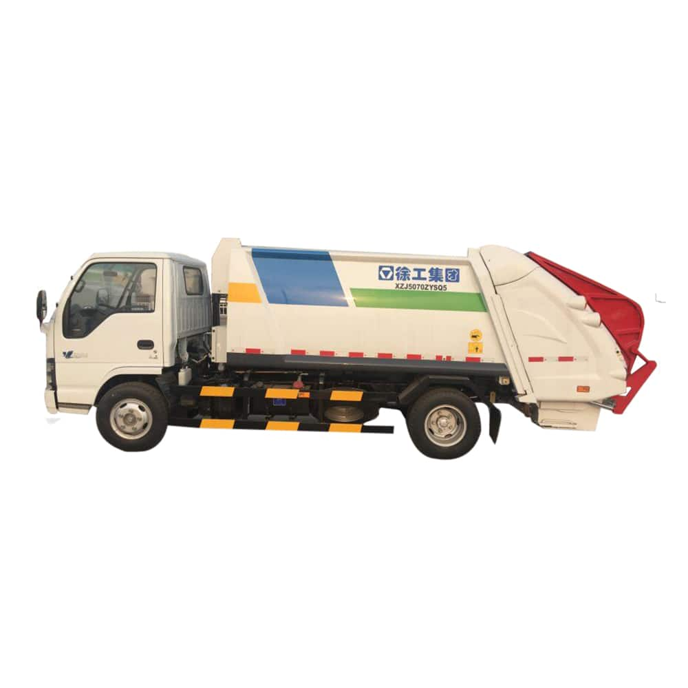 XCMG Official Manufacturer 3 tons Compressed Garbage truck XZJ5070ZYSQ5 for sale