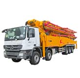 XCMG official manufacturer HB67K truck-mounted concreted boom pumps