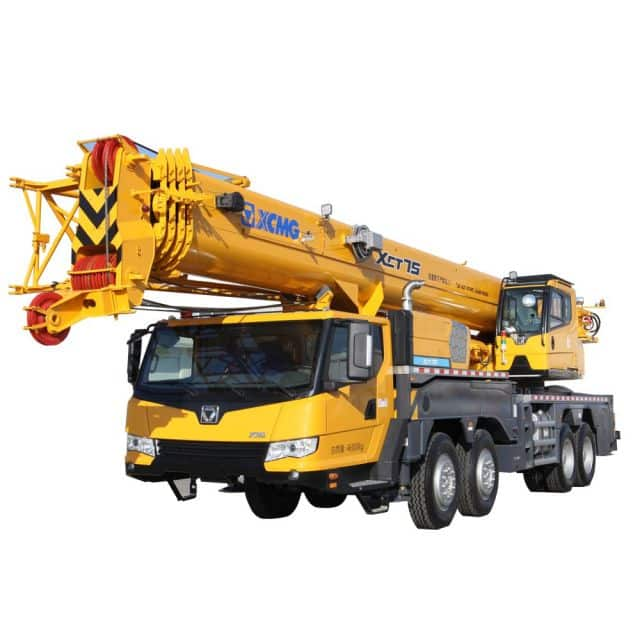 XCMG Official XCT75 Truck Crane for sale