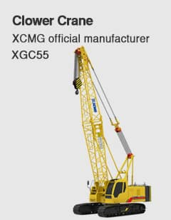 XCMG Official XGC55 Crawler Crane for sale