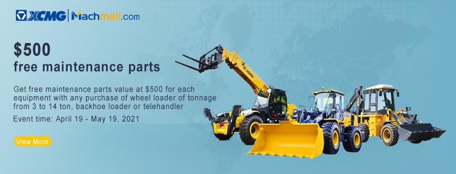 Medium and Large Tonnage Loader, backhoe loader, telehander