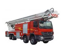 XCMG Official 72m Water Tower Fire Truck JP80