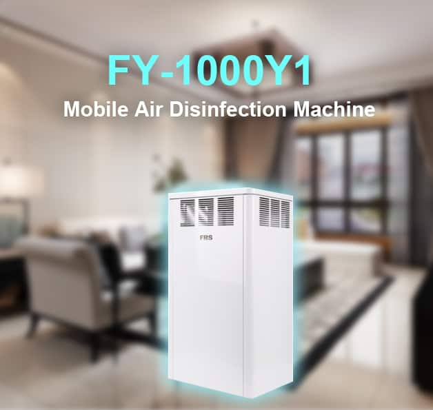 FRS FY-1000Y1 Mobile Air Disinfection Machine for sale