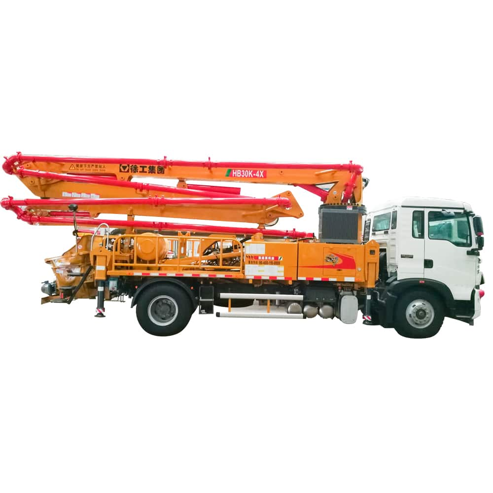 XCMG official manufacturer HB30K truck-mounted concreted boom pumps