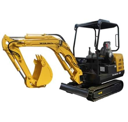 DLS830-9B 3 ton crawler type hydraulic excavator