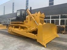 HAITUI chinese hydraulic bulldozer HD32 320HP with straight tilt blade price