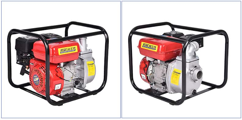 FST-50WP  2inch water pump, 6.5HP gasoline engine, aluminium pump,