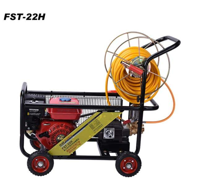 FST-22HT  garden machine, 6.5HP gasonline engine, 22H cast iron  power sprayer