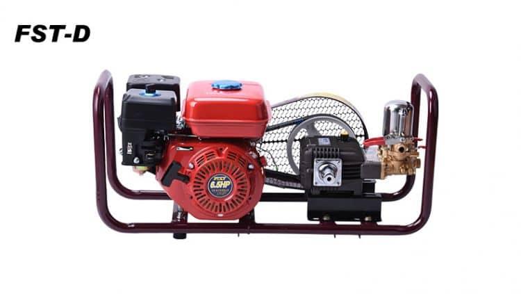 FST-D garden machine, 6.5HP gasonline engine, 22H cast iron pump power sprayer
