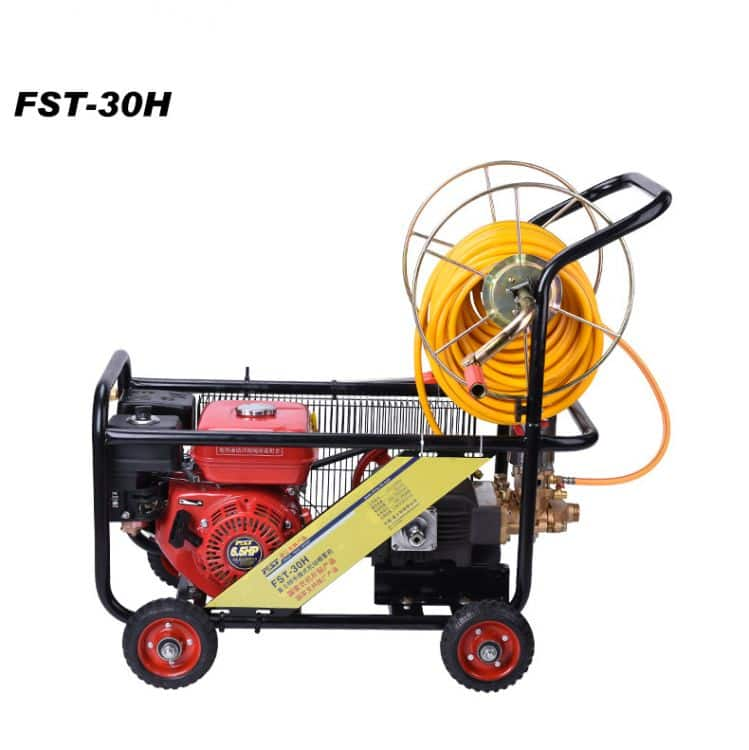 FST-30HT  garden machine, 6.5HP gasonline engine, 30H cast iron pump   sprayer