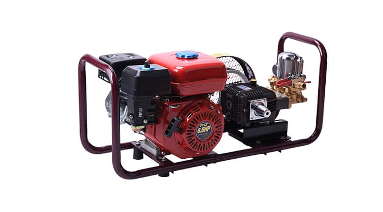 FST-D garden machine, 6.5HP gasonline engine, 22H cast iron pump power sprayer