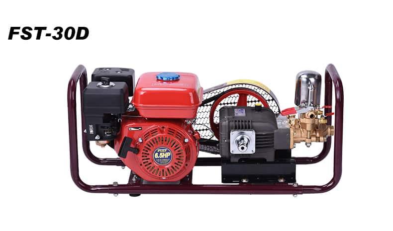 FST-30D garden machine  6.5HP gasonline engine  30H cast iron pump power sprayer