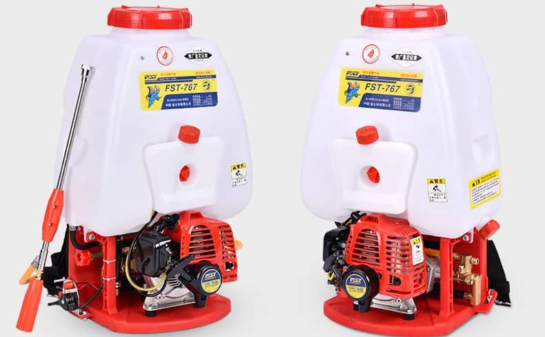 FST-767  knapsack power sprayers, two strokes engine, brass pump,25L tank