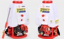 FST-767  knapsack power sprayers two strokes engine  brass pump 25L tank