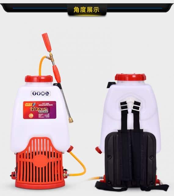 FST-25D  knapsack electric  sprayers  12A battery  4.0L/min  pump   25L tank