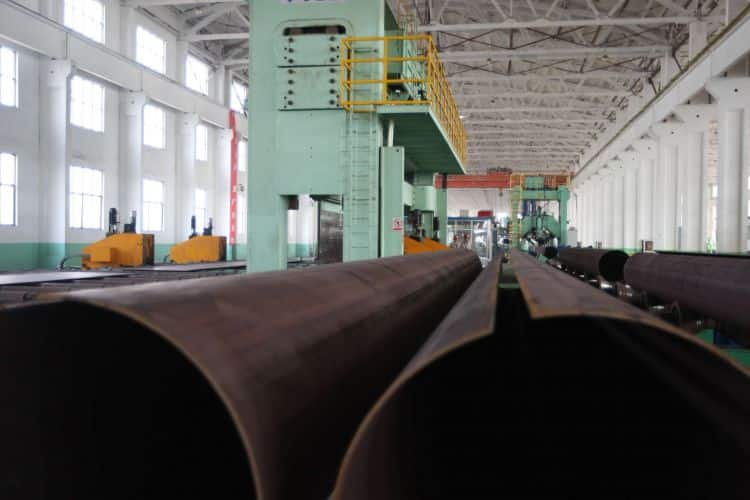 LSAW Welded steel pipe