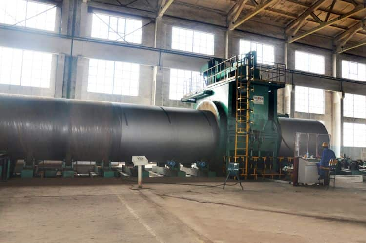 SSAW -Spirally submerged Arc Welding