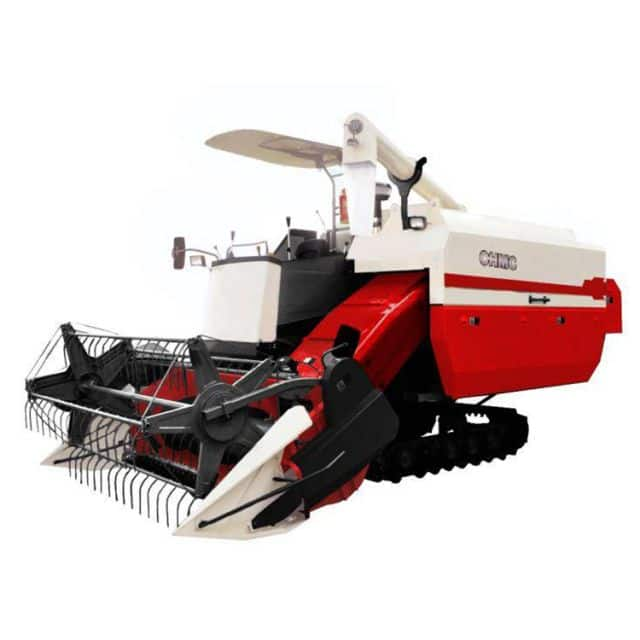CHMC Zhonglian harvesters 4LZ-5.0 crawler combine harvester for rice price