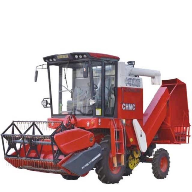 Self-propelled Grain Combine Harvester Straw Collection(4LZ-8B1)