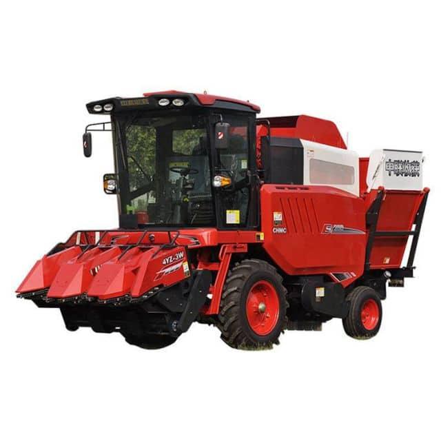 China ZHONGLIAN corn harvester 4YZ-3W 3 rows machinery 140HP price