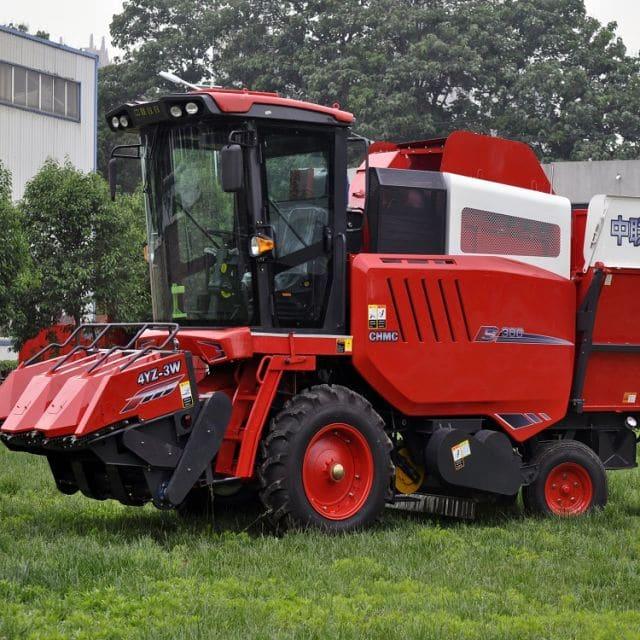 3 Rows Self-propelled Corn Combine Harvester (4YZ-3X)