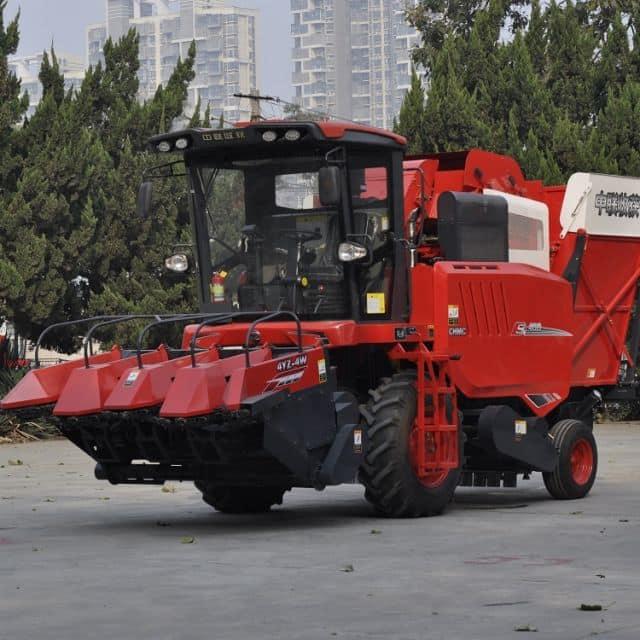 4 Rows Self-propelled Corn Combine Harvester 4YZ-4W