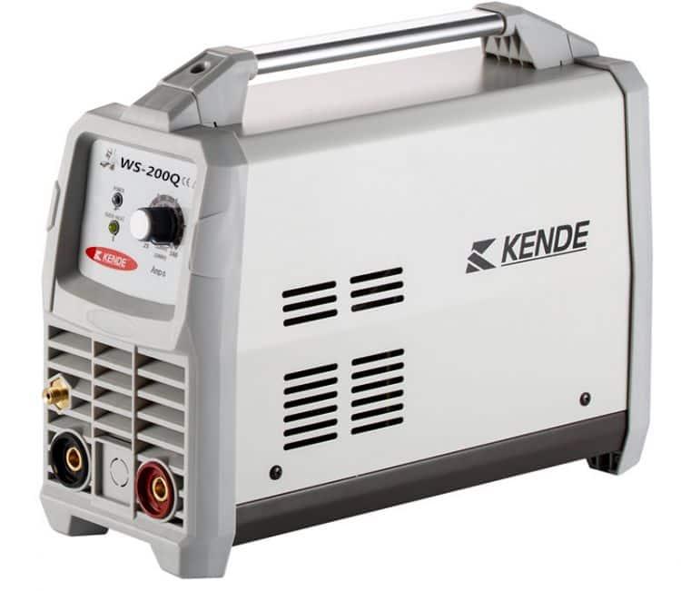 KENDE WS-200Q IGBT Inverter AC/DC Pulse TIG/MMA welding electrodes machine
