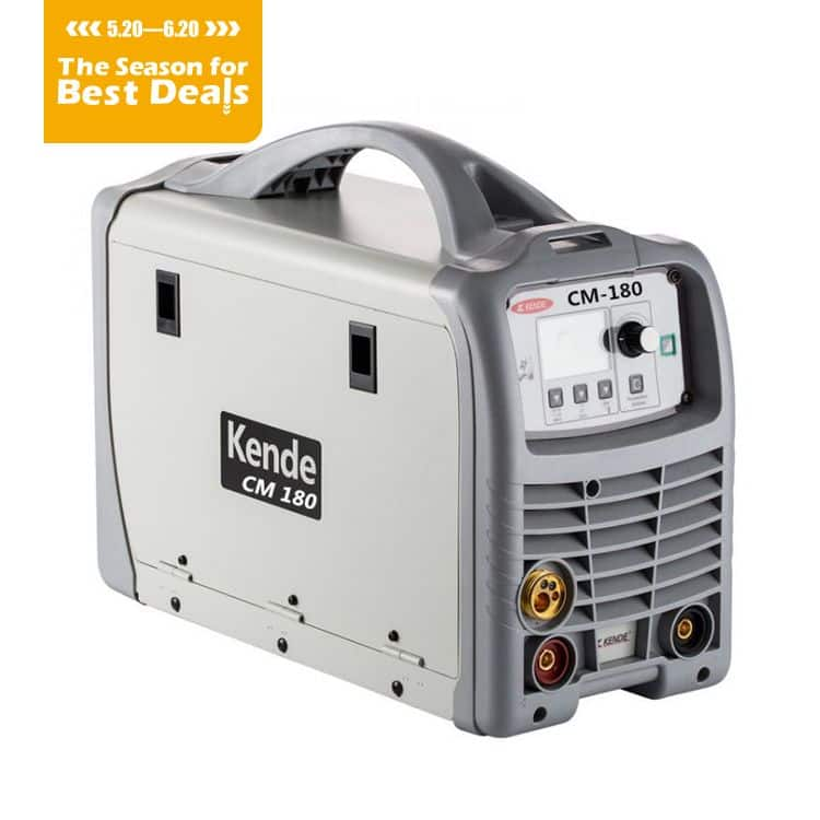 KENDE Hot Sale Multi-Functional DC IGBT Inverter MIG/MAG Welding Machine CM-180
