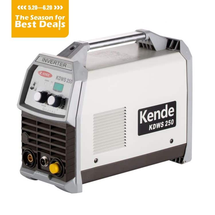 KENDE Inverter AC/DC TIG Pulse Welding Machine KDWS-250 AC/DC (IGBT Module)
