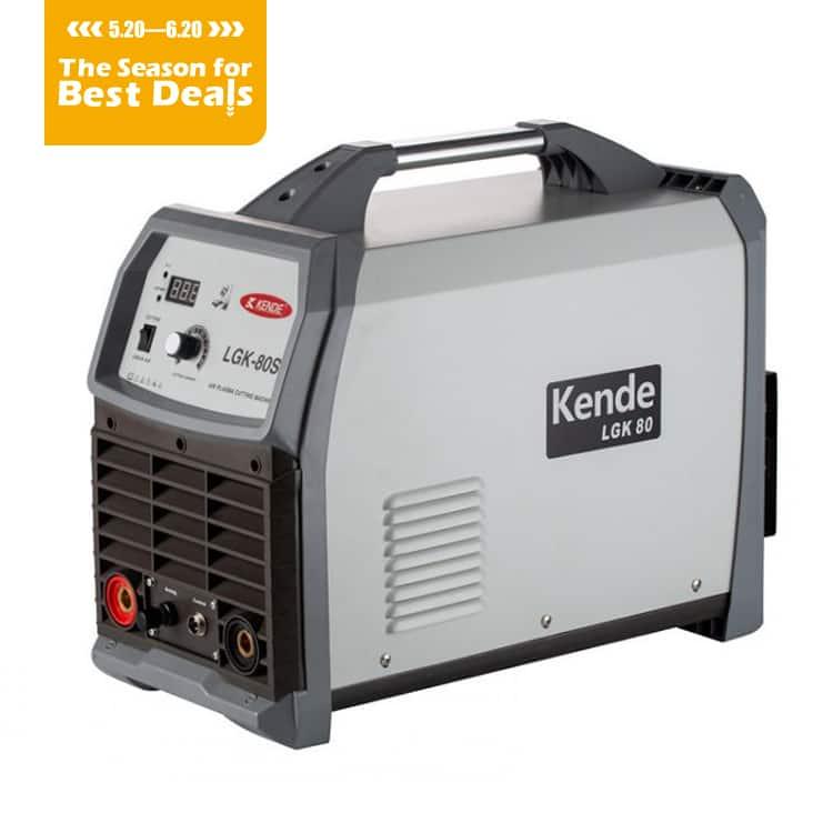 KENDE 380V LGK-80S IGBT Inverter Plasma Cutting Tig MMA Cut Welding Machine