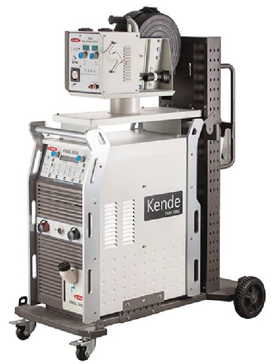 KENDE FMIG-350G-1 High Quality IGBT Digital Mig Mag Pulse Welding Machine 380V
