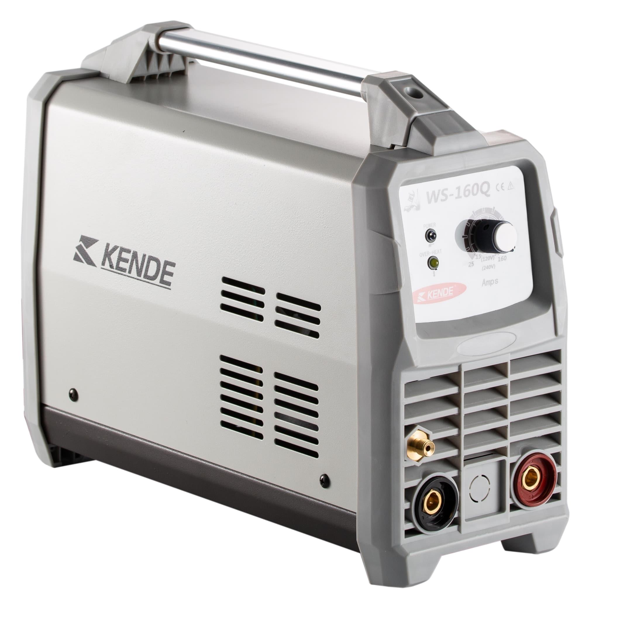 KENDE power efficient WS-160Q IGBT Inverter MIG/MMA/TIG welding machines welder