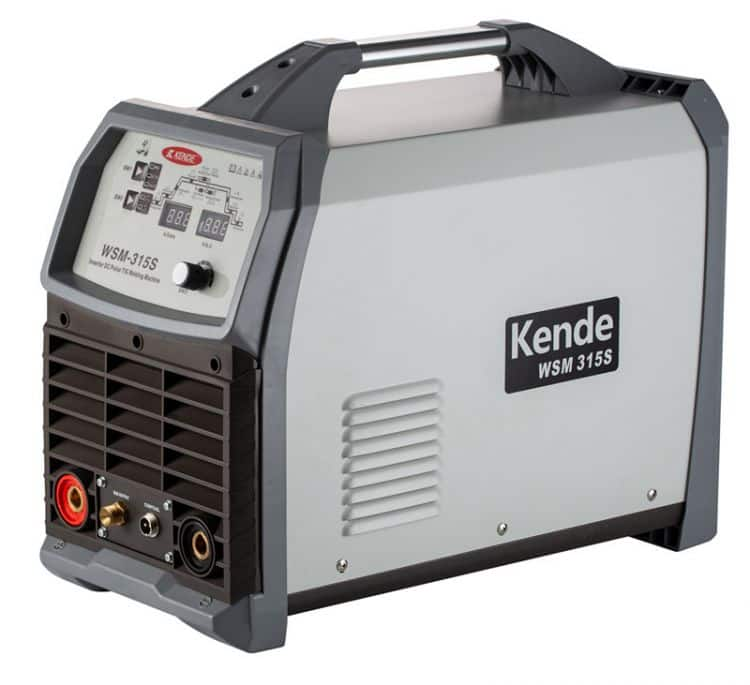 KENDE Portable IGBT Inverter AC DC Pulse MMA Arc TIG Welding Machine WSM-315S