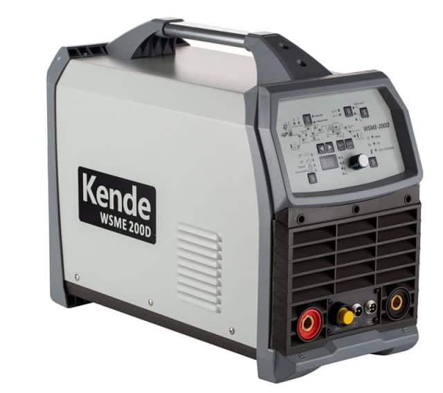 KENDE Argon Arc High Frequency Welder Inverter TIG/MMA Welding Machine WSME-200D