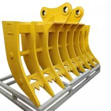 Jining Tianhong Co., Ltd  Rake Standard Bucket  Excavator rake