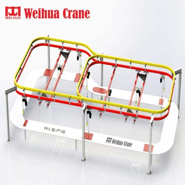 WEIHUA Flexible Light Combined Crane