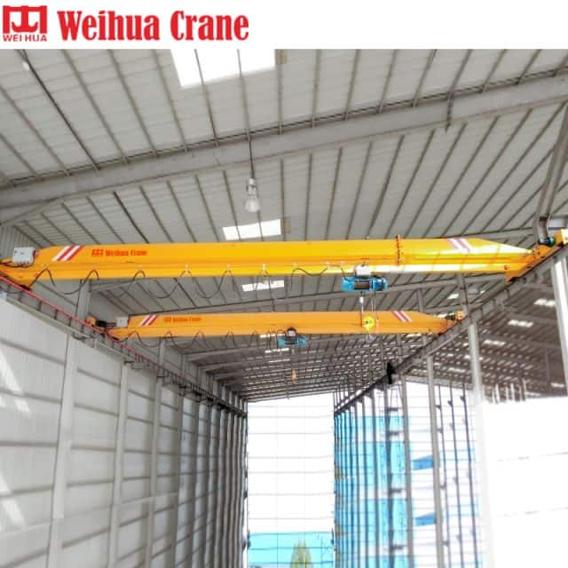 WEIHUA Chinese Standard Single Girder Overhead Crane