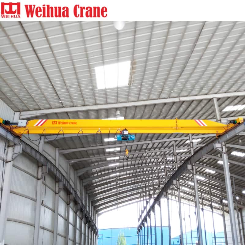 WEIHUA LDP Single Girder Overhead Crane with Side-Mounted Hoist