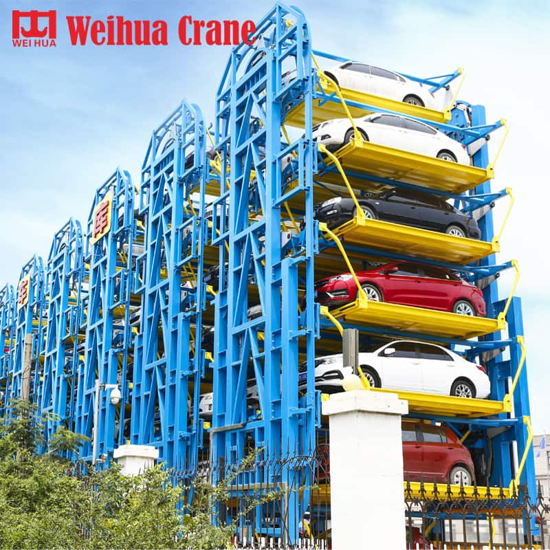 WEIHUA Automated Parking System with Loop Lift