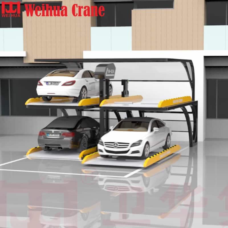 WEIHUA PJS No-avoidance Smart Car Lifter Parking Equipment
